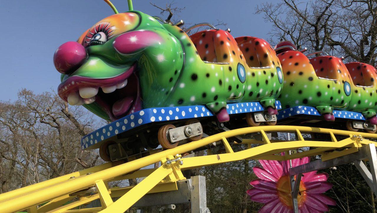 Caterpillar Roller Coasterat Pettitts
