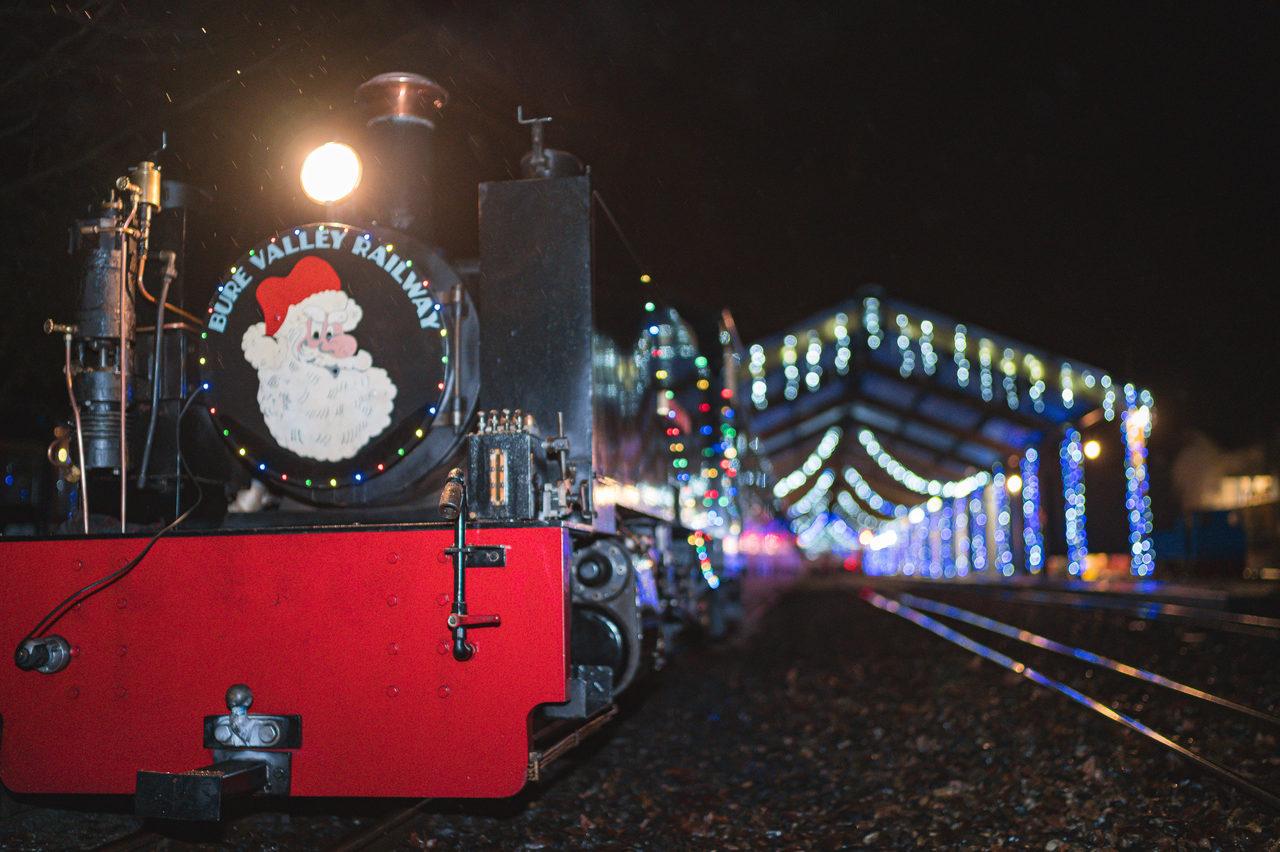 Bure Valley Santa Train Rj 00109